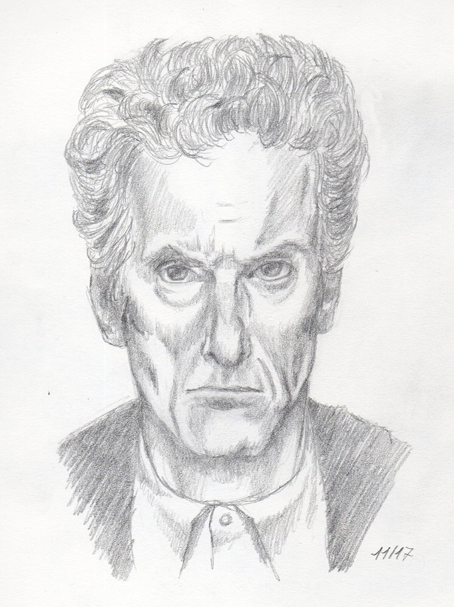 Peter Capaldi by R2lestudio